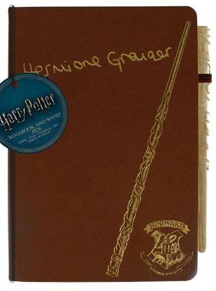 Imagen de Cuaderno - Libreta con Bolígrafo Varita Hermione - Harry Potter