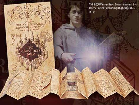 Picture of Réplica Mapa del Merodeador - Harry Potter