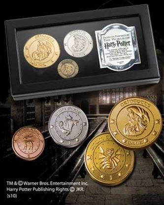 Picture of Réplica de las Monedas de los Gnomos de Gringotts - Harry Potter