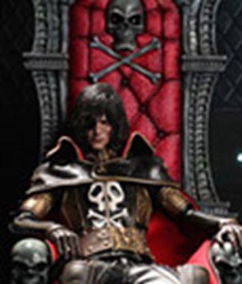 Picture of Capitán Harlock Figura Capitán Harlock con Trono de Arcadia