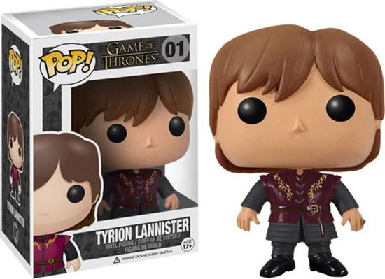 Picture of FIGURA POP MOVIE JUEGO DE TRONOS: TYRION 10 cm