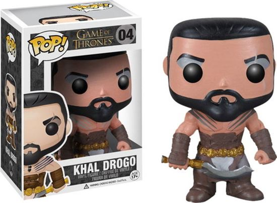 Picture of FIGURA POP MOVIE JUEGO DE TRONOS: KHAL DROGO 10 cm