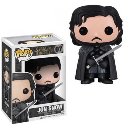 Picture of FIGURA POP MOVIE JUEGO DE TRONOS: JON SNOW 10CM
