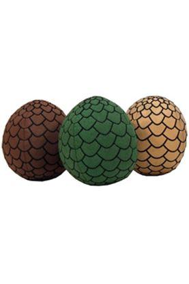 Picture of Juego de Tronos Peluches Huevos de Dragones