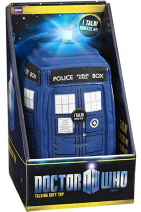 Picture of Doctor Who Peluche con sonido Tardis 23 cm
