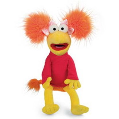 Picture of PELUCHE FRAGGLE ROCK ROSI (RED) 43 cms
