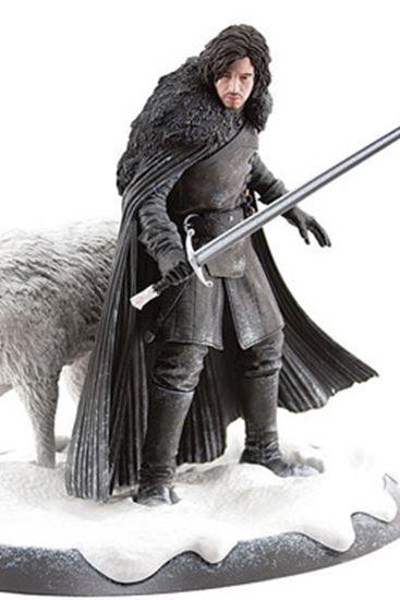 Picture of Juego de Tronos Estatua Jon Nieve y Fantasma