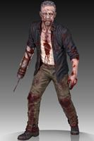 Picture of The Walking Dead Estatua 1/4 Merle Dixon Walker 41 cm
