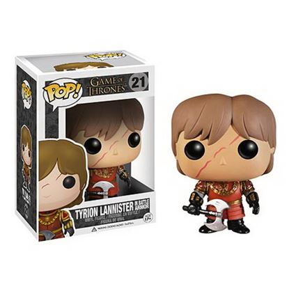 Picture of FIGURA POP MOVIE JUEGOS DE TRONOS: TYRION ARMADURA