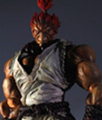 Picture of Super Street Fighter IV Play Arts Kai Vol. 2 Figura Akuma White Ver. Exclusive