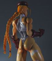 Picture of Super Street Fighter IV Play Arts Kai Vol. 1 Vol. 2 Figura Cammy White Ver. Exclusive