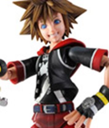 Picture of Kingdom Hearts 3D Play Arts Kai Figura Sora