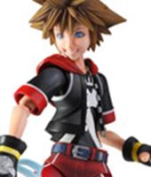 Picture of Kingdom Hearts 3D Play Arts Kai Figura Sora