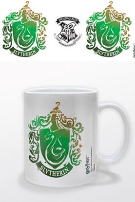 Picture of Harry Potter Taza Slytherin Stencil Crest