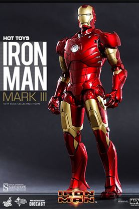 Picture of Iron Man Figura MMS Diecast Iron Man Mark III