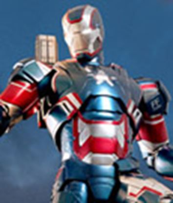 Picture of Iron Man 3 Figura MMS Diecast Iron Patriot