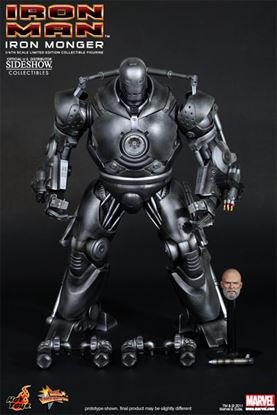Picture of Iron Man. Iron Monger