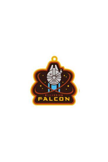 Picture of Star Wars Episode VII Llavero caucho Millennium Falcon 6 cm