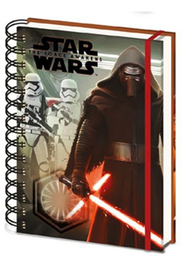 Picture of Star Wars Episode VII Libreta A5 Kylo Ren & Troopers