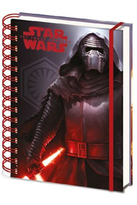 Picture of Star Wars Episode VII Libreta A5 Dark