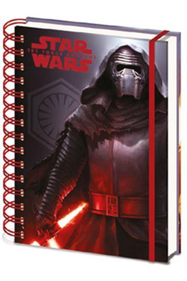 Picture of Star Wars Episode VII Libreta A5 Dark