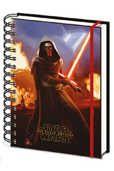 Picture of Star Wars Episode VII Libreta Lenticular A5 Kylo Ren