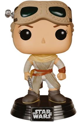 Picture of Star Wars Episodio VII POP! Vinyl Cabezón Rey & Goggles Limited Edition 10 cm