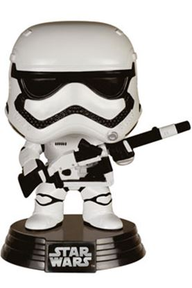 Picture of Star Wars Episodio VII POP! Vinyl Cabezón Stormtrooper & Blaster Limited Edition 10 cm