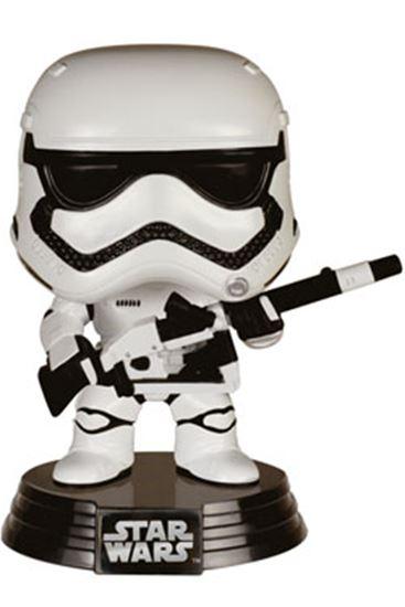 Picture of Star Wars Episodio VII POP! Vinyl Cabezón Stormtrooper & Blaster Limited Edition 10 cm