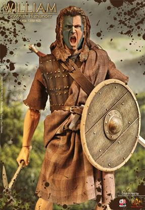 Picture of William  Wallace Scottish Highlander 1/6 DX