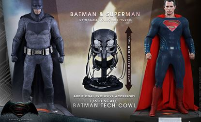 Picture of Batman v Superman Dawn of Justice MMS 1/6 Batman & Superman Exclusive Set (2)