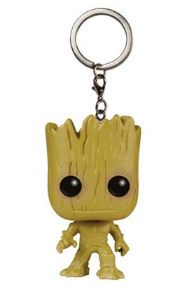 Picture of Guardianes de la Galaxia Llavero Pocket POP! Vinyl Groot 4 cm