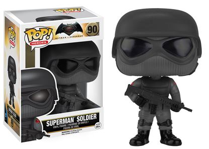 Picture of Batman v Superman POP! Heroes Vinyl Figura Superman Soldier 9 cm