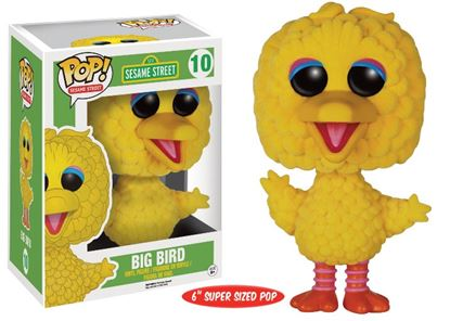 Imagen de Barrio Sésamo Figura POP! TV Vinyl Big Bird (Flocked) 15 cm