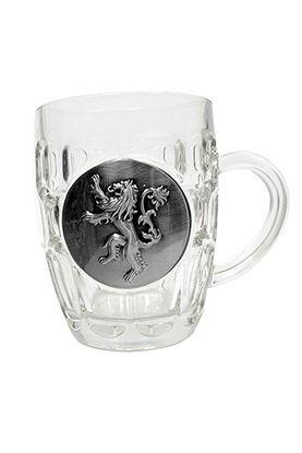 Picture of Juego de Tronos Jarra de cerveza Lannister Metallic Logo