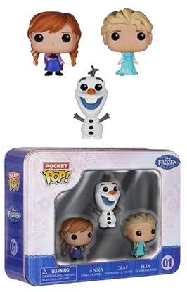 Picture of Frozen El Reino del Hielo Pocket POP! Tins pack de 3 Figuras 4 cm