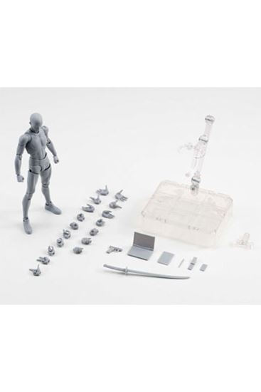 Picture of S.H. Figuarts Figura Man Deluxe Set Grey Version 15 cm