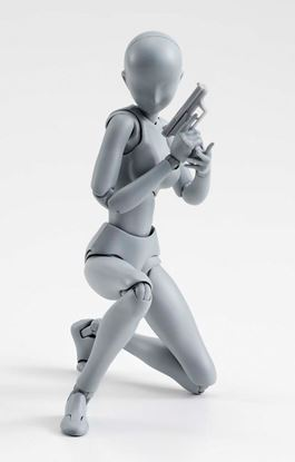 Picture of S.H. Figuarts Figura Woman Deluxe Set Grey Version 15 cm