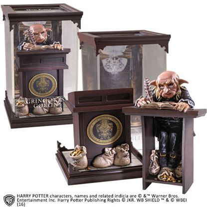 "Picture of Figura Gringotts Goblin ""Magical Creatures"" - Harry Potter"