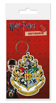 Picture of Harry Potter Llavero caucho Hogwart's Crest 6 cm
