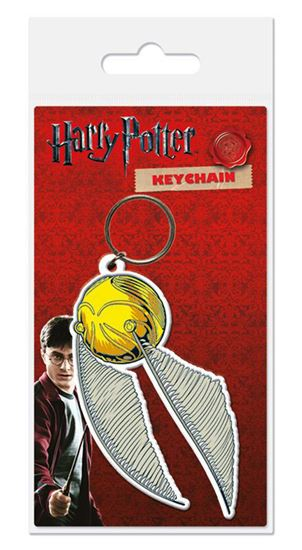 Picture of Harry Potter Llavero caucho Snitch 6 cm