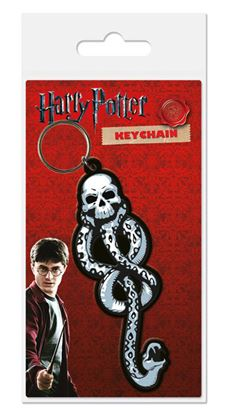 Picture of Harry Potter Llavero caucho Dark Mark 6 cm