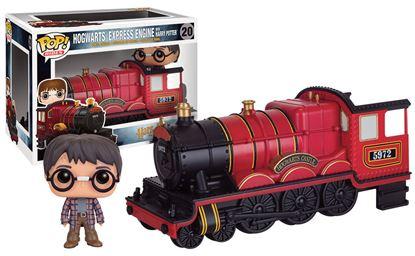 Picture of Harry Potter POP! Rides Vinyl Vehículo con Figura Hogwarts Express Engine & Harry Potter 12 cm