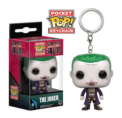 Picture of Escuadrón Suicida Llavero Pocket POP! Vinyl The Joker 4 cm