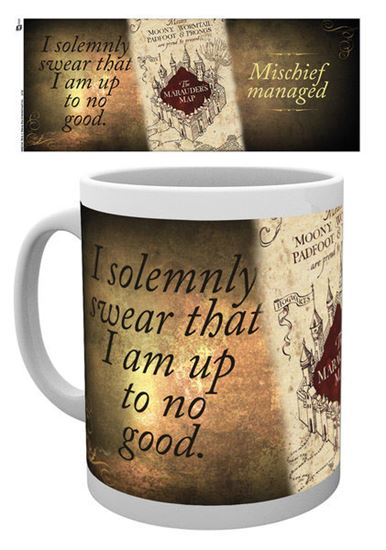 Picture of Harry Potter Taza Marauders Map