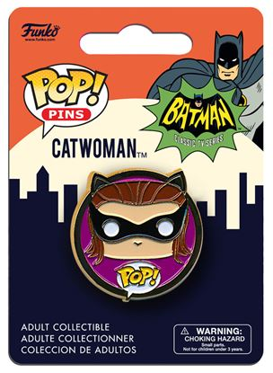 Picture of DC Universe POP! Pins Chapa 1966 Catwoman