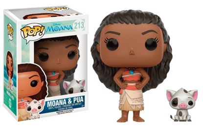 Picture of Vaiana POP! Disney Vinyl Figura Vaiana & Pua 9 cm