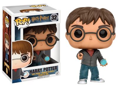 Picture of Harry Potter POP! Movies Vinyl Figura Harry With Prophecy 9 cm