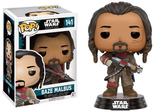 Picture of Star Wars Rogue One POP! Vinyl Cabezón Baze Malbus 9 cm