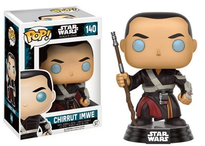 Picture of Star Wars Rogue One POP! Vinyl Cabezón Chirrut Imwe 9 cm